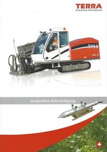 Terra - Grabenlose Rohrverlegung -
